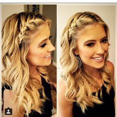 Christina El Moussa - Love the hair! Messy Hairstyles, Pretty Hairstyles, Maternity Hair, Medium Hair Styles, Long Hair Styles, Front Braids, Hair Pictures, Bridesmaid Hair, Hair Today