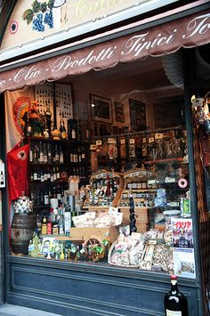 Florence - Wine and Cheese Shop by OldPopi, via Flickr