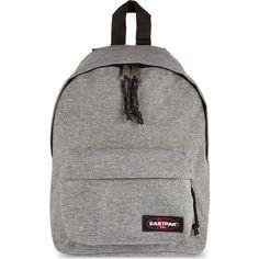 EASTPAK Orbit backpack (75 AUD) ❤ liked on Polyvore featuring bags, backpacks, backpack, sunday grey, eastpak backpack, strap bag, rucksack bag, gray bag and grey backpack