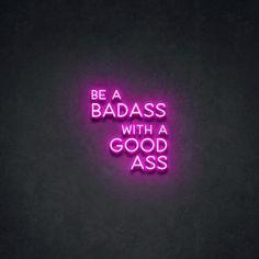 Bad Girl Wallpaper, Pink Wallpaper Iphone, Aesthetic Iphone Wallpaper, Aesthetic Wallpapers, Cool Neon Signs, Led Neon Signs, Neon Aesthetic, Quote Aesthetic, Neon Signs Quotes