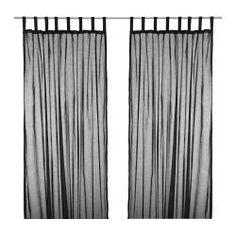 dark bedroom curtains