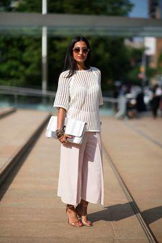 Culotte Pants - Women´s Fashion - Trend - Style - Outfit - Look - Inspiring - Moda Feminina - Estilo - Inspiração
