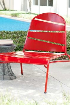 Messina Indoor-Outdoor Lounge Chair - Red by Weather-Resistant Furniture and Fireplaces on @HauteLook