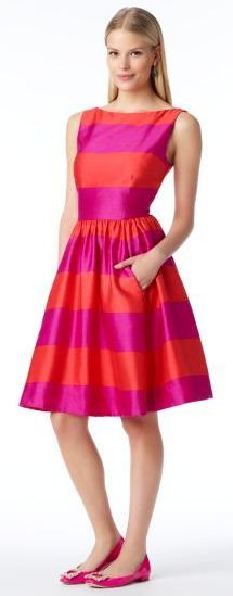 dress colorfully | kate spade