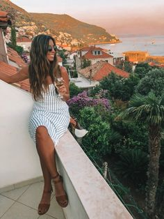 the adriatic coast: travel & style guide Boho Beach Style, Coast Style, European Summer, Vacation Outfits, What To Pack, Peasant Blouse, Swimwear Fashion, Montenegro, Slovenia