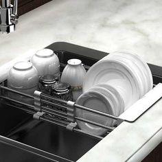 Escurridor Platos Vasos Extensible Para Bacha Cocina denda  -   599 9570359ceb0f