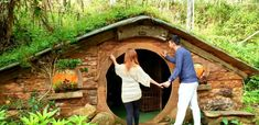 Directions to the Hobbit House of Bukidnon - Alexis in the Bright Blue Dot Garden Bridge, The Hobbit, Outdoor Structures, Bright, Plants, Top, Blue, Plant, Crop Shirt