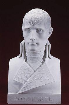 """Dihl et Guérhard (1781-1824) - Napoleon Bonaparte (1769-1821) as First Consul. Hard-Paste Biscuit Porcelain. Paris, France. Circa 1800. 12-1/2"""" (31.8cm)."""