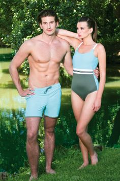 Twinning as a couple #jogswimwear #nature #turqouise #sundress #bikini #girlsinbikini #swimwear #summer2016 #funinthesun #cuts #artonbody #lasercuts #outinthenature #details #colourblock #geometrics
