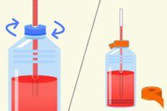 ペットボトルで作る温度計 | 空気の学校 | ダイキン工業株式会社 Science Experiments