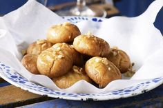 Drenched in sweet, sticky honey syrup, these traditional Greek biscuits will make your taste-buds melt.
