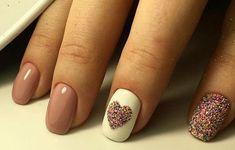 70 easy valentine's day nail art ideas nail designs; Pedicure Designs, Pedicure Nail Art, Nail Art Designs, Gel Nails, Pedicure Ideas, Stiletto Nails, Summer Toe Nails, Valentine Nail Art, Nails For Kids