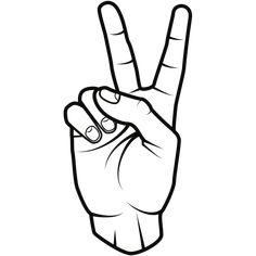 Arm Tattoos, Finger Tattoos, Arm Band Tattoo, Sleeve Tattoos, Armband Tattoo Design, Tattoo Designs, Peace Sign Drawing, Peace Sign Fingers, Peace Sign Tattoos