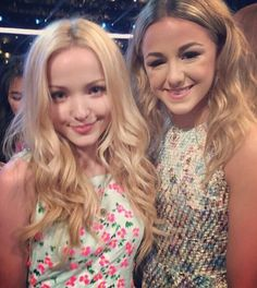 Dove Cameron !!! I was so excited when I got to see one of my favorite stars on Disney !! Love her she's the best!!!