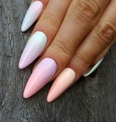 Candy-Coated Ombre - These Pretty Pastel Nails Are Perfect For Spring - Photos