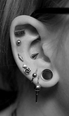 #plugs #earings #piercings