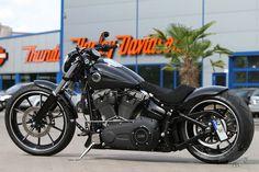 Harley-Davidson Softail FXSB Breakout Umbau