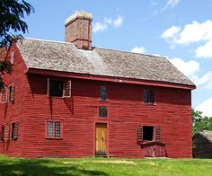 Colonial Houses New England 1600s