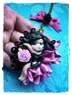 zauberhafte Rosen Fee  von Marions Traumlädchen auf DaWanda.com