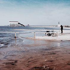 via Instagram nanny.licious: Nordsee | St. Peter-Ording #überwasser
