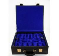 Beautifully made Leatherette piece storage box with a stitched border. Fully felt lined interior to cushion your chess pieces.  http://chesskart.com/chess-boxes/leatherette-chess-boxes   #LeatheretteChessBoxes