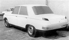 Contre-proposition maison de la Peugeot 504 par Paul Bouvot.