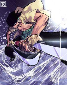 I M Gonna Be, Roronoa Zoro, Pirates, Manga Anime, First Love, One Piece, Drawings, Twitter, Drawing Ideas