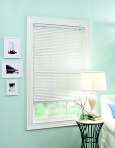 "1"" Cordless Lift Vinyl Mini Blind  Available at select walmart stores and walmart.com"