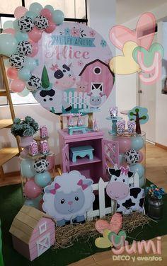 Farm Animal Birthday, Farm Birthday, Birthday Diy, 2nd Birthday Party For Girl, Cowgirl Birthday, Diy Birthday Decorations, First Birthdays, Baby Birthday, Carousel Birthday Parties