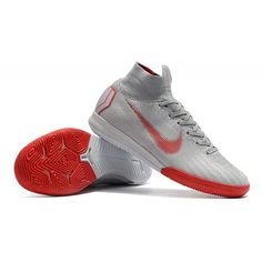 4baa469c5 Nike Girls Soccer Cleats - Kids Nike Mercurial SuperflyX VI Elite IC Wolf  Grey Pure Platinum Light Crimson - Cheap Kids Football Boots - Indoor -  Kids ...
