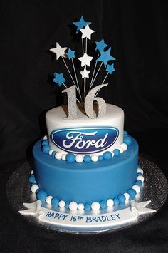 Ford 16th cake More