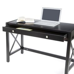 Anna Writing Desk with 1 Pull-Out Drawer