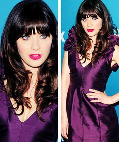 Zooey Deschanel. She's been called both Clear and Cool. This is a stunning BW colour.
