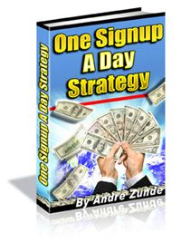 Get This Free No Opt-in Guide That Will Show You How To Get One Signup A day.