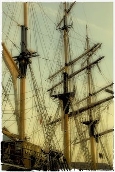 Masts and rigging.