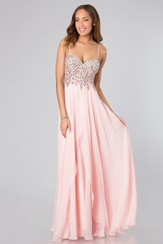 So Far Gown Peach Lace Maxi Dress | The dress, Pink lace and The grey