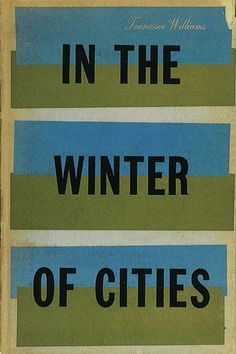 In the Winter of Cities 1956, New Directions | Elaine Lustig Cohen cover design