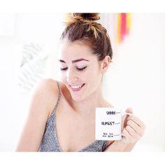 Good Morning!☕️☕️☕️  @emmawlker Now you may speak mug , shop the link in bio!