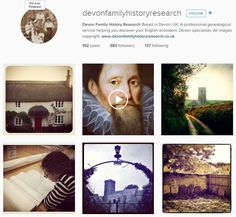 Devon Family History Research are on Instagram - take a look! We've just been named in the top 10 Instagram accounts by Crestleaf! http://crestleaf.com/blog/10-family-history-instagram-accounts-every-family-historian-should-follow/#more-3572 www.instagram.com/devonfamilyhistoryresearch