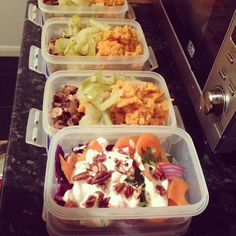 #mealprepsunday - @heckfooduk chicken sausage stewed cinnamon apple and sweet potato mash with low fat yog coleslaw. #protein #fitfam #getready #eatwell #nutrition #intermittentfasting by thinkeatplay