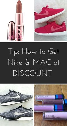 Get your muscles and mascara on! Shop brands like Nike, Adidas, Kat Von D, MAC, and Clinique at discounts up to 70% off! Tap the image to download the free app and see what savings you'll uncover.
