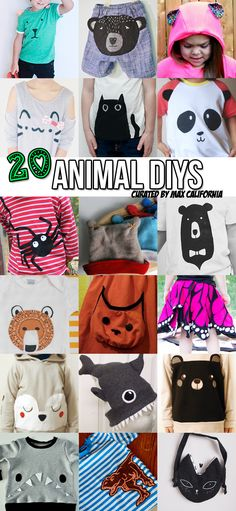 Max California: 20 Animal DIYs