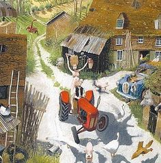 'The Farmers Wife' by Richard Adams (L045)