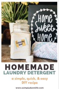 Powder Laundry Detergent, Homemade Laundry Detergent, Fels Naptha, Mom Brain, Washing Soda, Christian Living, Baking Ingredients, Food Processor Recipes, Blog