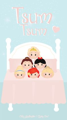 Tsum Tsum ★ Find more Cute Disney wallpapers for your #iPhone + #Android…