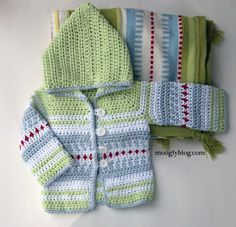 Sven Sweater: baby cardigan perfect for boys and girls both! Ravelry download by Tamara Kelly.