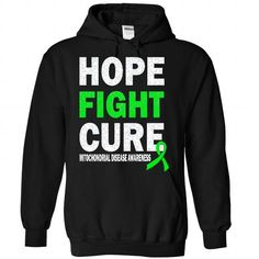 Cure - Mitochondrial Disease - #gift packaging #gift sorprise. HURRY => https://www.sunfrog.com/LifeStyle/Cure--Mitochondrial-Disease-8151-Black-Hoodie.html?68278