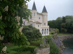 Castle in the south of France