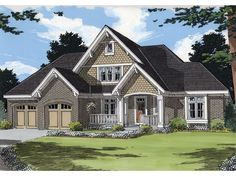 Two-Story House Plan, 046H-0086