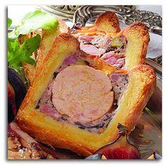 """Une recette pour les fêtes : """"le pâté en croûte au Foie Gras"""", miam ! #recette #cuisine #foiegras #noel"""